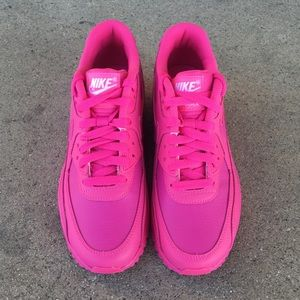 NIKE AIR MAX 90 PINK GS YOUTH GIRLS BOYS NWT